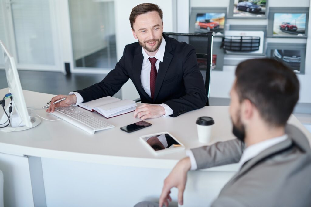 Business Manager Consulting Client